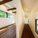 haus-agit/人里離れた眺めの良い場所に佇む爽快なアジトの写真 子供室&廊下
