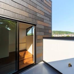 haus-agit/人里離れた眺めの良い場所に佇む爽快なアジト (寝室&バルコニー)