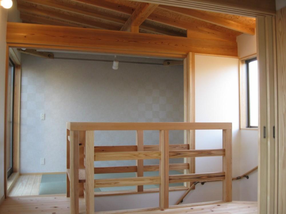 M邸ー終の住処として二つの庭を持つコートハウス (2階多目的スペース)