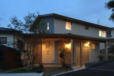 飯倉の家 (外観)