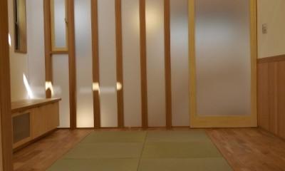 神戸の家 (居間)