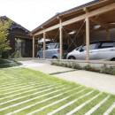 伏見の家の写真 前庭・玄関アプローチ
