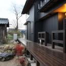 伏見の家の写真 中庭・デッキ