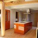 伏見の家の写真 アイランドキッチン