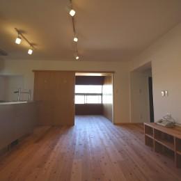 リビングダイニング・キッチン (高針台の家)