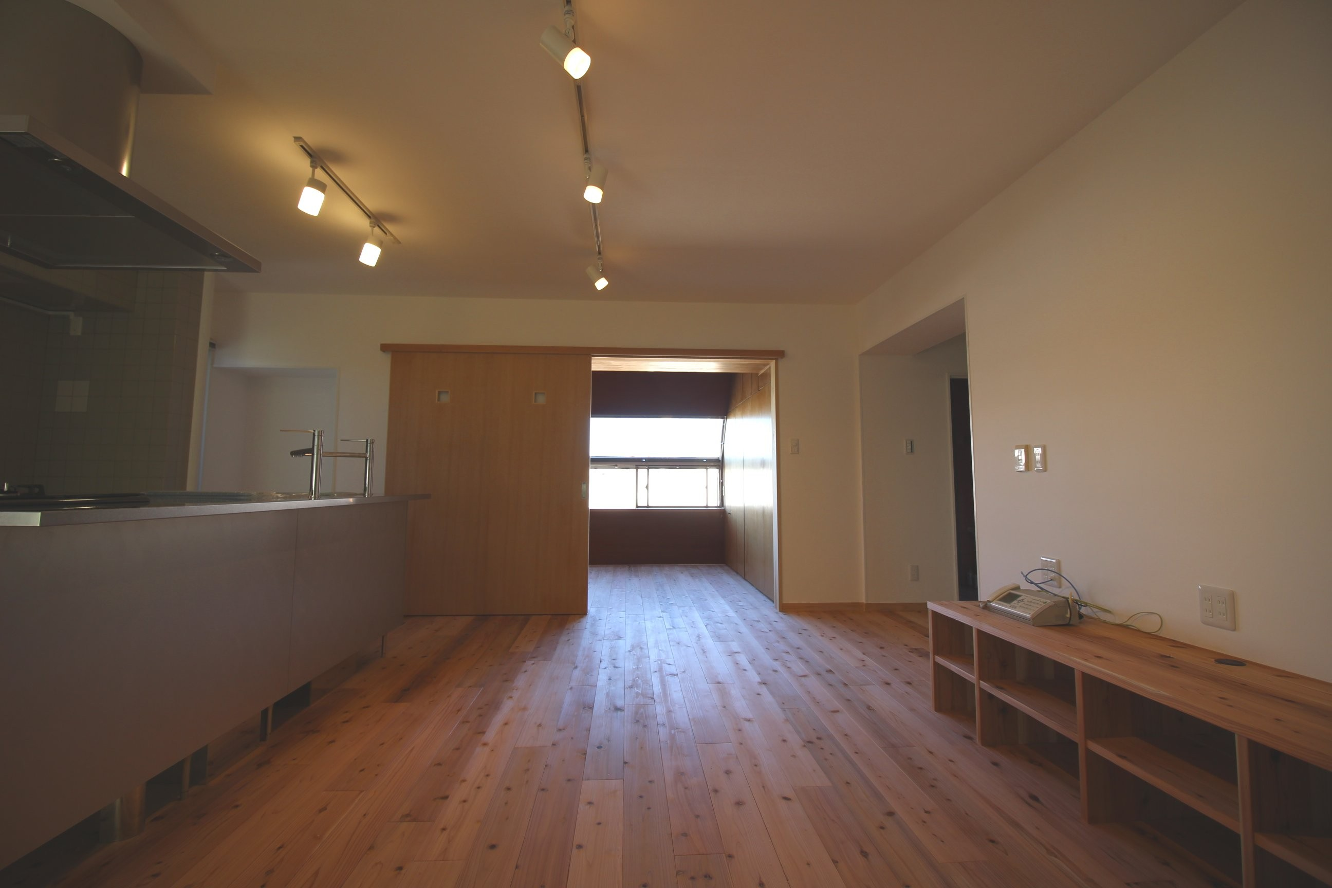 リビングダイニング事例:リビングダイニング・キッチン(高針台の家)