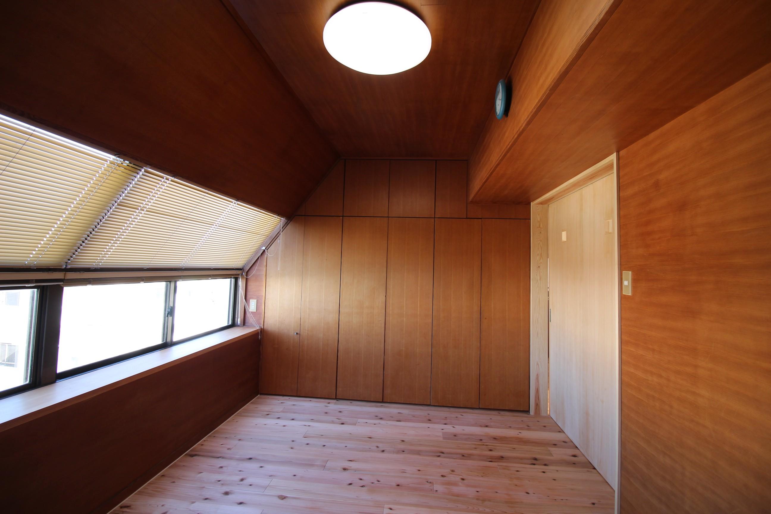ベッドルーム事例:寝室(高針台の家)