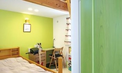 間取りや素材も全て希望通りに デザイン設計+注文住宅の魅力満載 (子供部屋)
