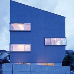 外観 (快適と予算もデザインされた 建築士と建てた5層の家)