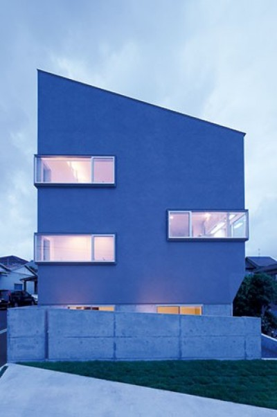 快適と予算もデザインされた 建築士と建てた5層の家 (外観)