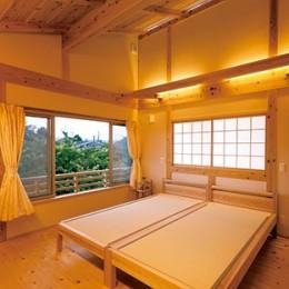 娘へと受け継ぐための 風格をまとった伝統家屋 (寝室)