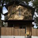 矢部直輝の住宅事例「40年間、土地に育った大きな木と一緒に : 大樹のある山荘」