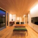 施主さんと建築士の感性が美しい大人の住まいを実現の写真 リビングダイニング