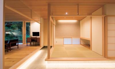 施主さんと建築士の感性が美しい大人の住まいを実現 (和室)