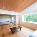 施主さんと建築士の感性が美しい大人の住まいを実現の写真 2階 寝室