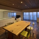 NOMA/桑原淳司建築設計事務所の住宅事例「海沿いのマンション最上階のフルリノベーション」