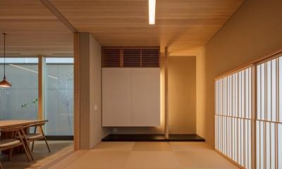 芦屋の家 和室|芦屋の家