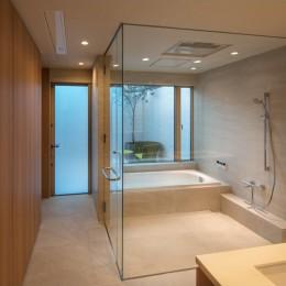 芦屋の家 (芦屋の家 洗面・浴室)
