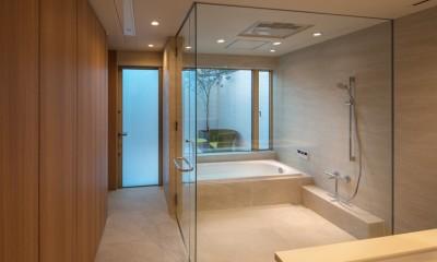 芦屋の家 洗面・浴室|芦屋の家