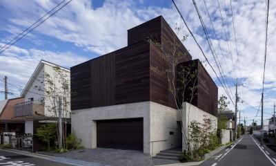 堺の週末住宅 (外観)