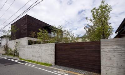 堺の週末住宅 (庭側の外観)