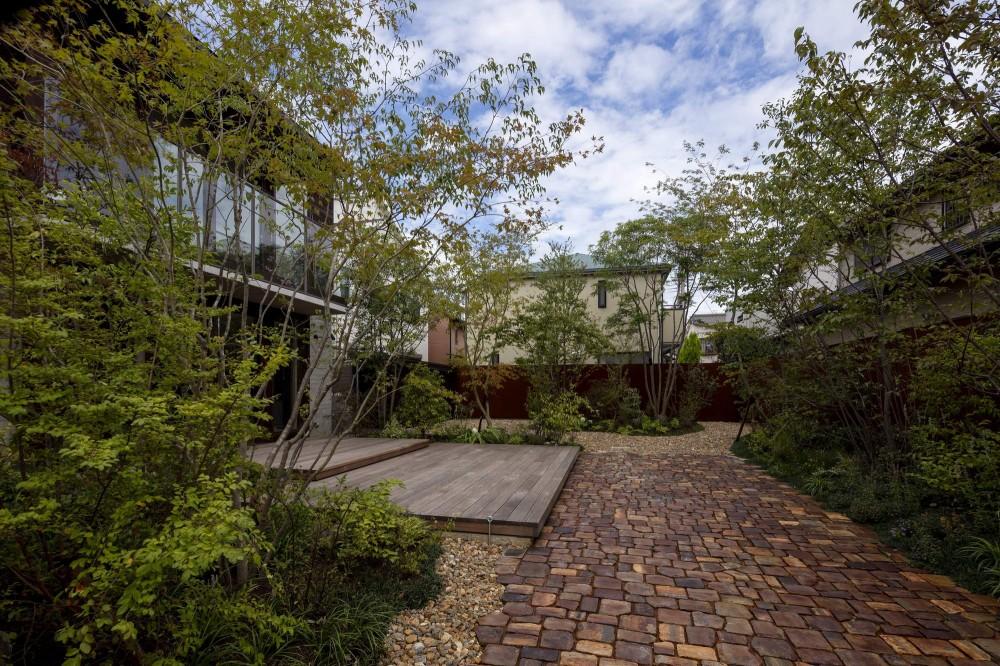 堺の週末住宅 (庭)