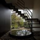 堺の週末住宅の写真 玄関正面の階段