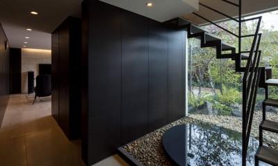 堺の週末住宅 (階段、シアタールーム)