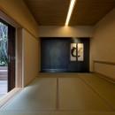堺の週末住宅の写真 2階中庭に面した和室