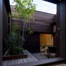 堺の週末住宅の写真 2階に面した浴室