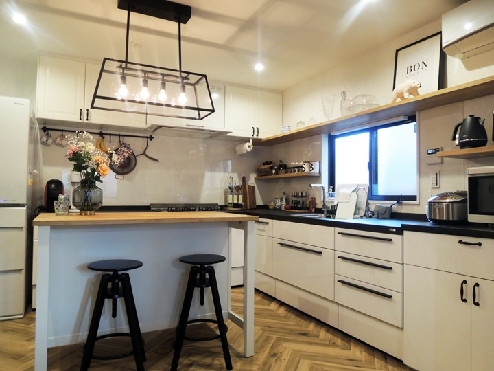 M様邸 (Kitchen)