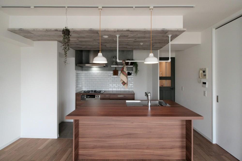 Cuestudio(キュースタジオ)「キッチンが中心の2LDK+書斎。料理が楽しくなるリノベーション」