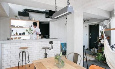 キッチン2|city surf 都会的サーフデザイン