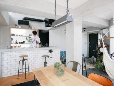 キッチン2 (city surf 都会的サーフデザイン)