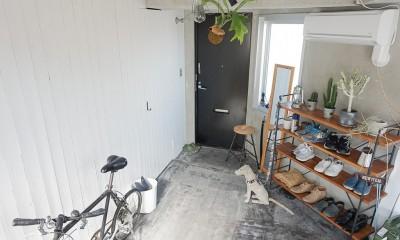 玄関|city surf 都会的サーフデザイン