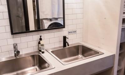 洗面台|流行りやブランドにはとらわれない楽でのんびりできる家