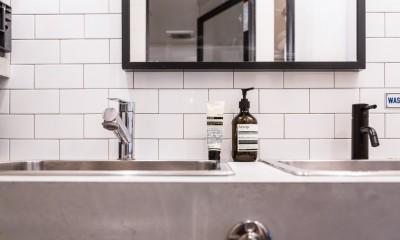 洗面台2|流行りやブランドにはとらわれない楽でのんびりできる家