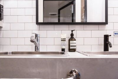 洗面台2 (流行りやブランドにはとらわれない楽でのんびりできる家)