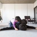 流行りやブランドにはとらわれない楽でのんびりできる家の写真 リビング