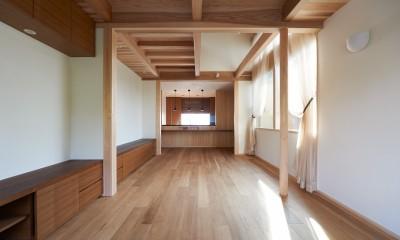 2階:LDK|スキップフロアの家