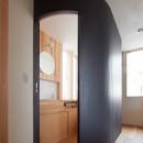 スキップフロアの家の写真 R トイレ