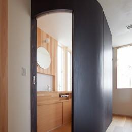 スキップフロアの家 (R トイレ)