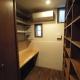 書斎 (変形旗竿地に建つ半地下スキップフロアの家)