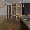 移りゆく住まいの写真 移りゆく住まい 2階キッチン・ダイニングテーブル3