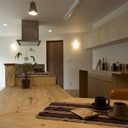 移りゆく住まい (移りゆく住まい 2階キッチン・ダイニングテーブル1)