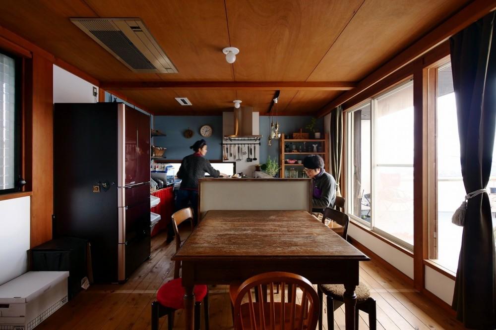 ダイニングキッチン (北欧ヴィンテージと、DIY!)