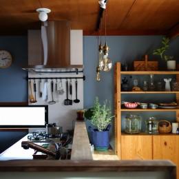 北欧ヴィンテージと、DIY! (キッチン)