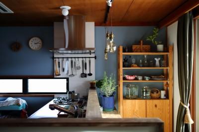 キッチン (北欧ヴィンテージと、DIY!)