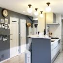 GELATO PIQUE HOMEの写真 キッチンカウンター/玄関