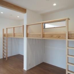 吉野町の家 (子供室)